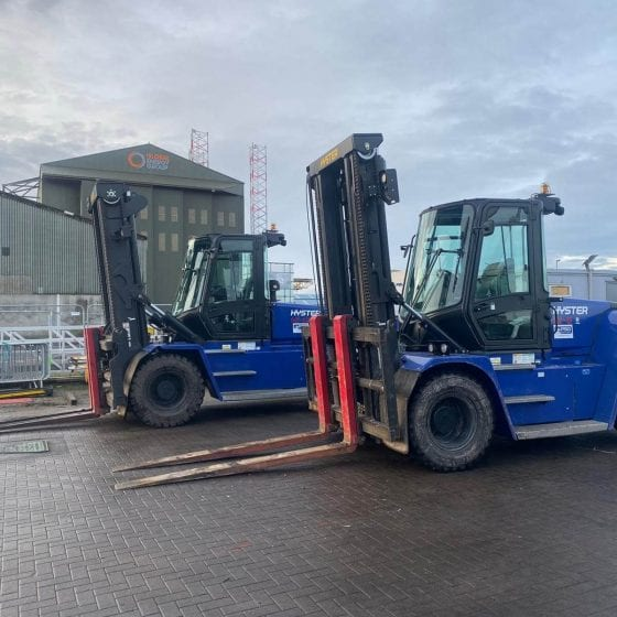 fork lift truck hire Invergordon