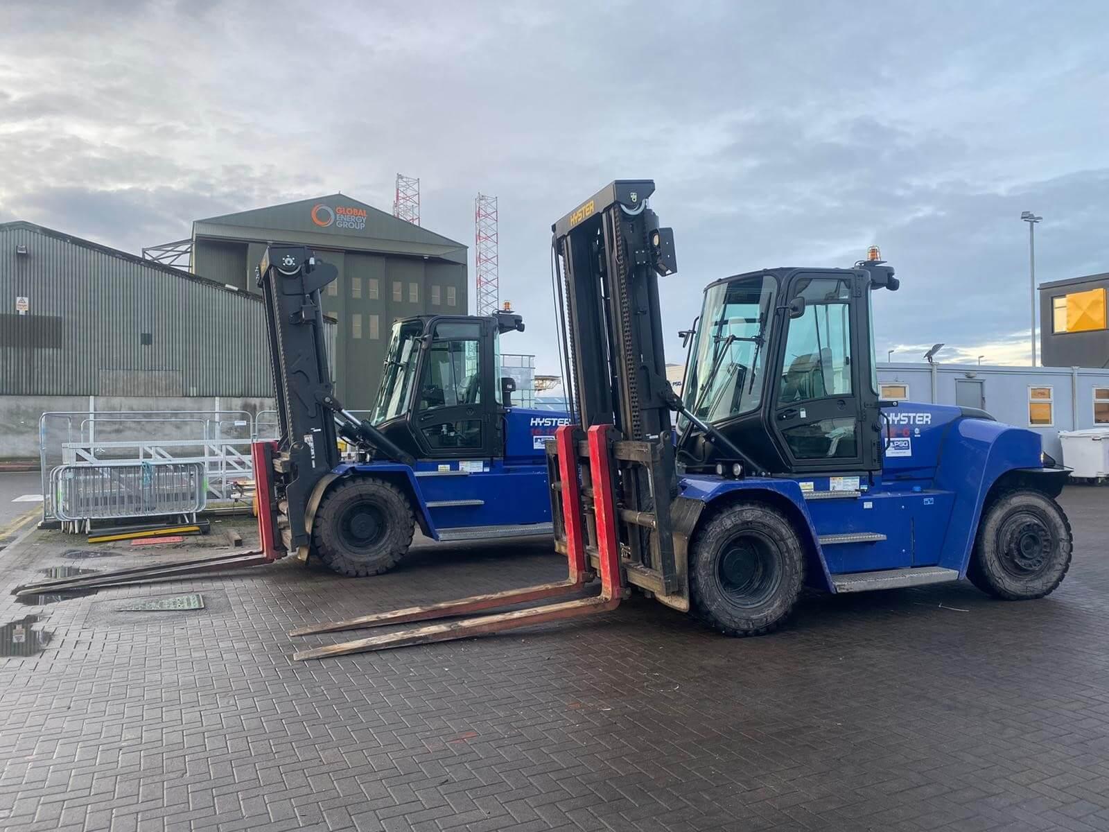 fork lift truck hire Invergordon